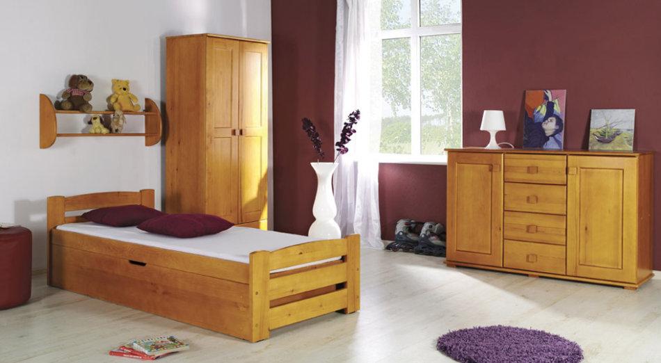 DOLMAR LOLEK gulta ar veļas kasti